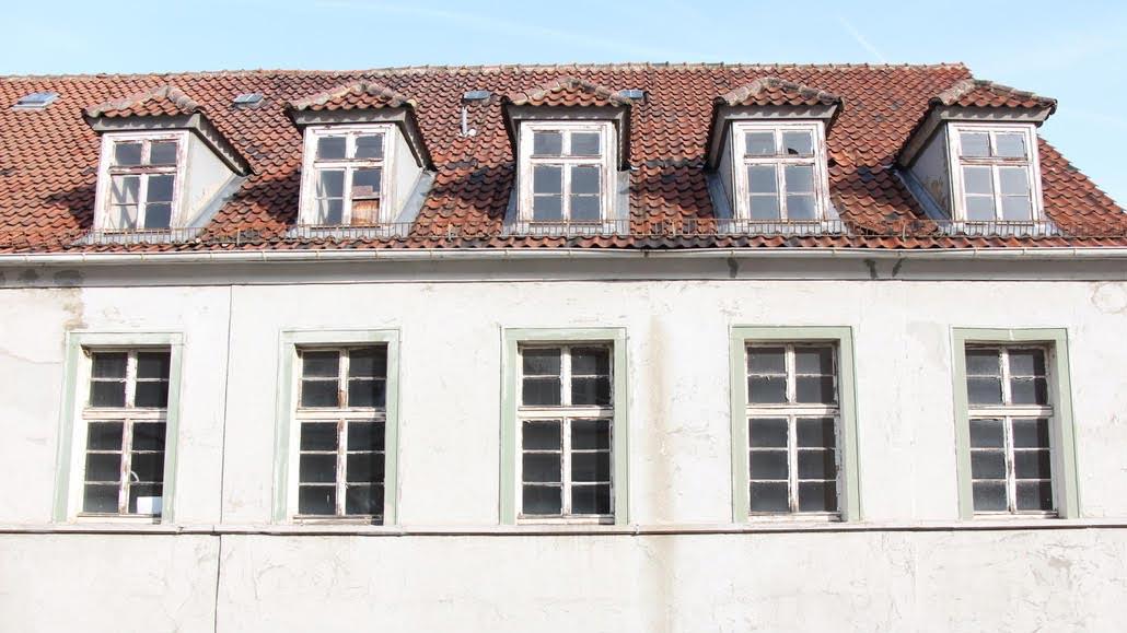 Hugenottenhaus, Detail